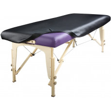 Massage Table Upholstery Cover/PU Cover - Black One Per Order - Table Not included