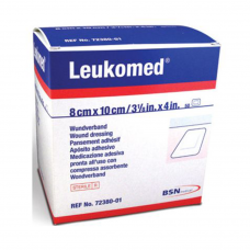Leukomed Bandage | Adhesive Dressing with Absorbent Pad | 50 per Box
