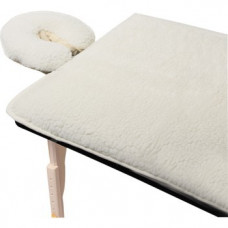 Complete Fleece Pad Set - Fleece Table Cover And  Pillow cover