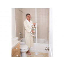 Stander- Security Pole & Curve Grab Bar-Product Code: 1100