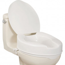AquaSense® Elongated Raised Toilet Seat with Lid-770-629