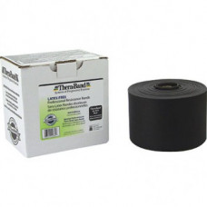 Thera-Band Latex-Free Resistance Band 25-Yard Roll - BLACK COLOR