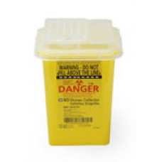 367216 - Sharps Container BD Eclipse compatible disposal container. 1 Qt. Yellow (60/ca)