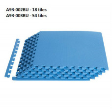 Blue Interlocking Foam Tiles - Set of 54 tiles
