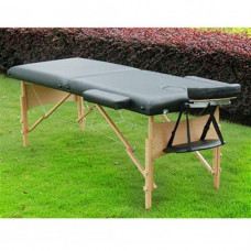 "Portable Massage Table -Portable Massage Table - 2.5"" inch thick padding Black -5550-3162BK"