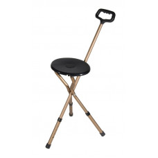 Folding Lightweight Cane Seat by Drive Medical -RTL-10365-ADJ