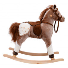 Classic Rocking Horse – Coffee Brown