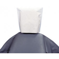 "House Brand 10"" x 13"" White Tissue/Poly Head Rest Covers, Box of 500 Covers"