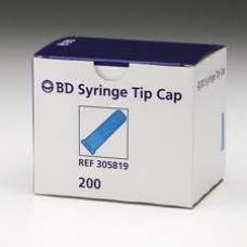 BD Syringe Tips Only (for 1CC Leur Slip) 200/box #305819-tip cap