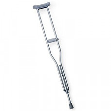 Tall Adult  EZ Adjust Aluminum Crutches- ONE ONLY