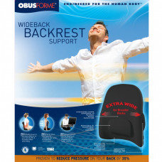 The Obus Forme Wideback Backrest Support