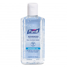 PURELL Instant Hand Sanitizer 4-oz Flip-Cap Bottle 24/Carton