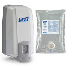 PURELL 2152D1 NXT Space Saver Hand Sanitizer Dispenser & Refill