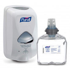 PURELL 5392-D1 TFX Touch Free Dispenser & Refill, Hand Sanitizer Dispenser Kit with 1200 mL Refill Gel