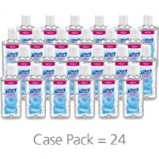 -A PURELL Instant Hand Sanitizer 118ml-4-oz Flip-Cap Bottle 24/Carton