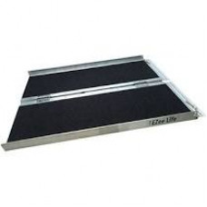3 Foot  Single Fold Portable Ramp with Grip Tape