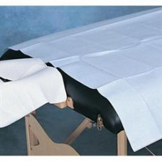 """Pick Up In Store: Drape Sheet Poly Backed 40"""" X 90"""" Sheet 50 Count Blue #359 CURBSIDE PICKUP ONLY"""