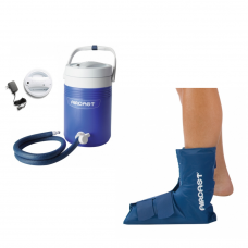 Aircast Ankle Cryo/Cuff w/Cooler Motorized