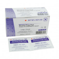 Stevens Alcohol Prep Pads -/400 per box-Large