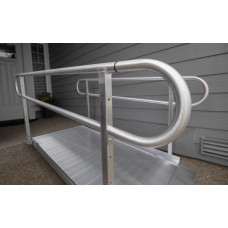 Gateway Solid Surface Ramp 10 Foot long with with handles