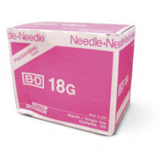 BD 305195 Needle Only 18 Gauge 1 inch 100/box
