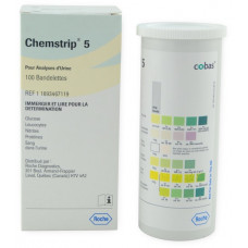 CHEMSTRIP® 5 URINE TEST STRIPS 100/BTL