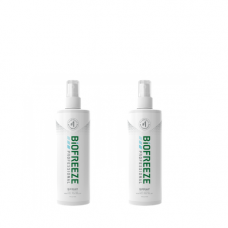 Biofreeze Pain Relieving, 4 oz Spray (Pack of 2)