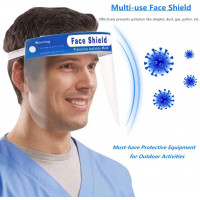 Face Shields Protective Shield for Men Women Adjustable Caseeto Protective Visor One Size Fits All - Price for Each