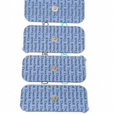 Electrodes Dura-Stick Plus Clip 50x100mm Cefar Compex-42202 =4 packs ( 16 PADS)