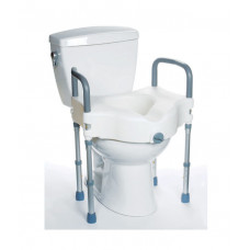 Raised Toilet Seat with Legs: MHRTSL