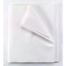 "Flat Sheets White Tissue/Poly 60""x96"" 980940"