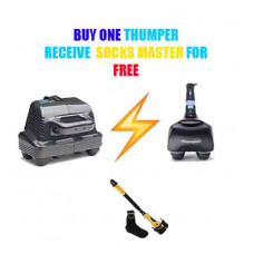 Buy One Thumper Massger and Receive Socks Master For FREE