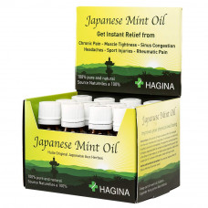HAGINA Japanese Mint Oil 20 ml – Box of 12