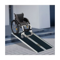 5ft Foldable Portable Wheelchair Ramp Scooter Mobility Easy Access Carrier Ramp