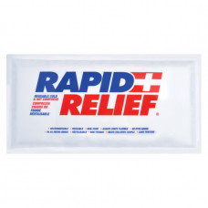 "ICE Pack - Rapid Relief 5""x6"" PACK OF 6 WHITE"