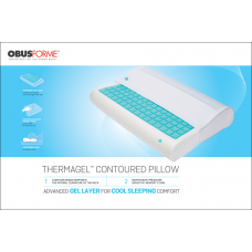 ObusForme Contour Thermagel Memory Foam Pillow PL-GEL-CT
