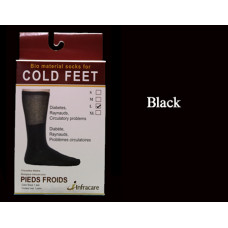 Infracare Pyro Socks for Cold Feet (Black)