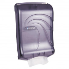Transparent Black Oceans Ultrafold Paper Towel Dispenser