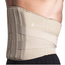 Thermoskin T9-Lite Rigid Lumbar Support, Beige