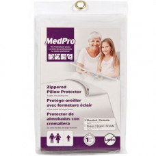 MedPro Vinyl Zippered Pillow Protector Pack of 6