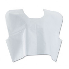 EXAM GOWNS- CAPE Tissue/Poly/Tissie -30in x 21in 100/box White