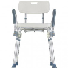 Bath Chair with Back and Arms: MHBBA