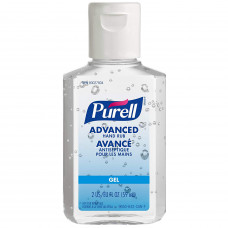 Purell Advanced Hand Rub Original 59ml (Pack of 6) 2 oz hand rub in travel size