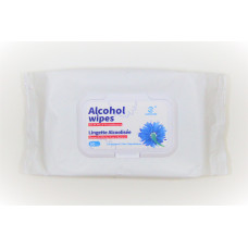60% ALCOHOL WIPES 50/BAG
