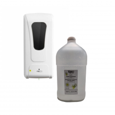 TOUCH FREE AUTOMATIC DISPENSER WITH 3.78 L HAND SANITIZER COMBO
