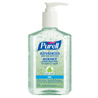 Purell Advanced Gel Hand Sanitizer with Aloe, 70% Alcohol Content, 236 mL - 6 Pack