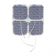 "Chattanooga Dura-Stick  Self Adhesive Electrodes, 2"" x 2"" Square-42198-16 pads -CEFAR 1490-EXP"