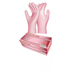 Ronco Touch Pink Nitrile Examinatino Gloves-1000/case