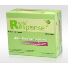 Rapid Response Urine Pregnancy Test Kit 50 Strips/box