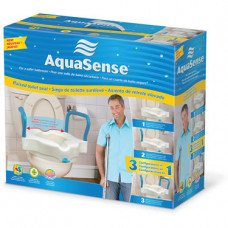 AquaSense 3-in-1 Raised Toilet Seat -770-618